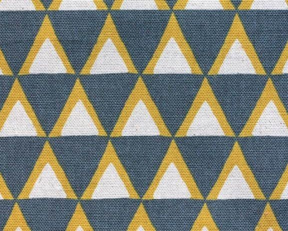 Kokka Triangles Fabric From Fabric Online Nz A Sewing Fabric Store For Curtain Fabric Upholstery Cushi Fabric Stamping Japanese Fabric Block Printing Fabric