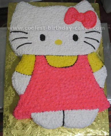 Hello Kitty Birthday Cake Hello kitty birthday cake Hello kitty