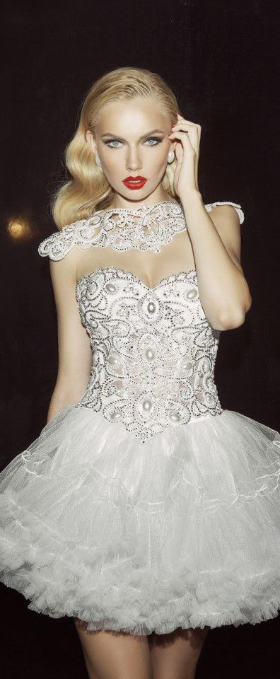 3 Home Decor Trends For Spring Brittany Stager: Stunning White Sequin Corset With Tulle Detail Mini Dress