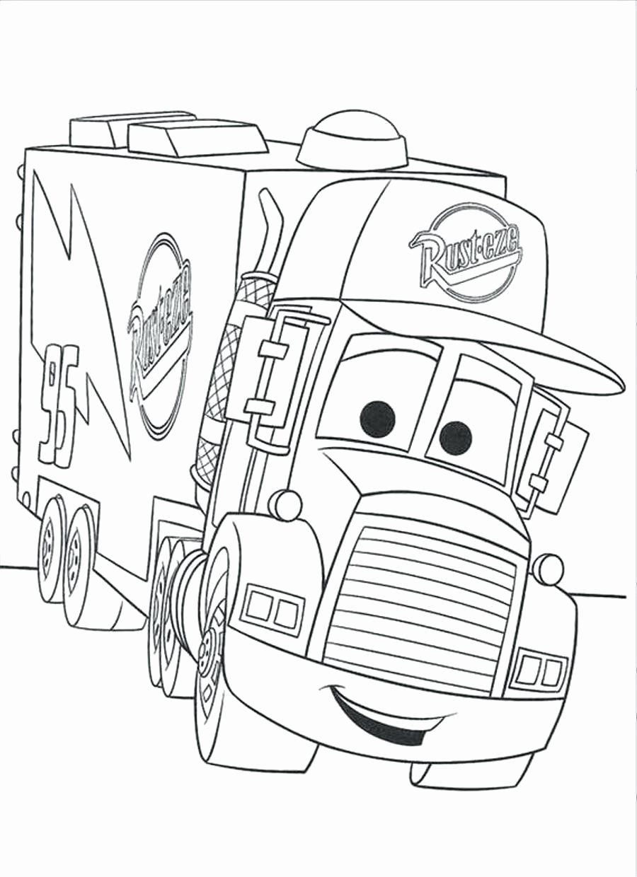 Lightning Mcqueen Christmas Coloring Pages Fresh Coloring Free Printable Tow Mater Coloring Pa Monster Truck Coloring Pages Truck Coloring Pages Coloring Books