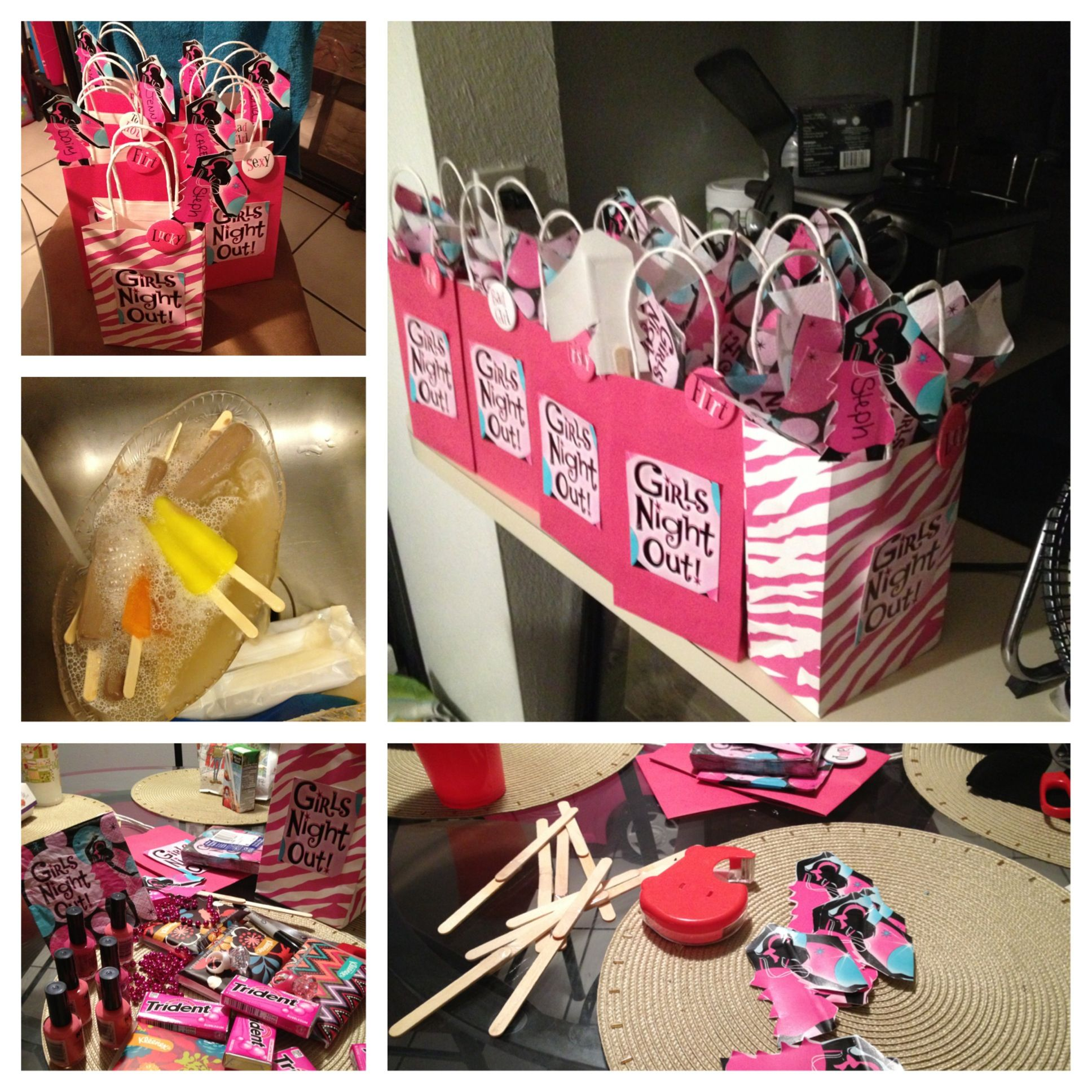 Bachelorette gift bags bachelorette gifts bachelorette