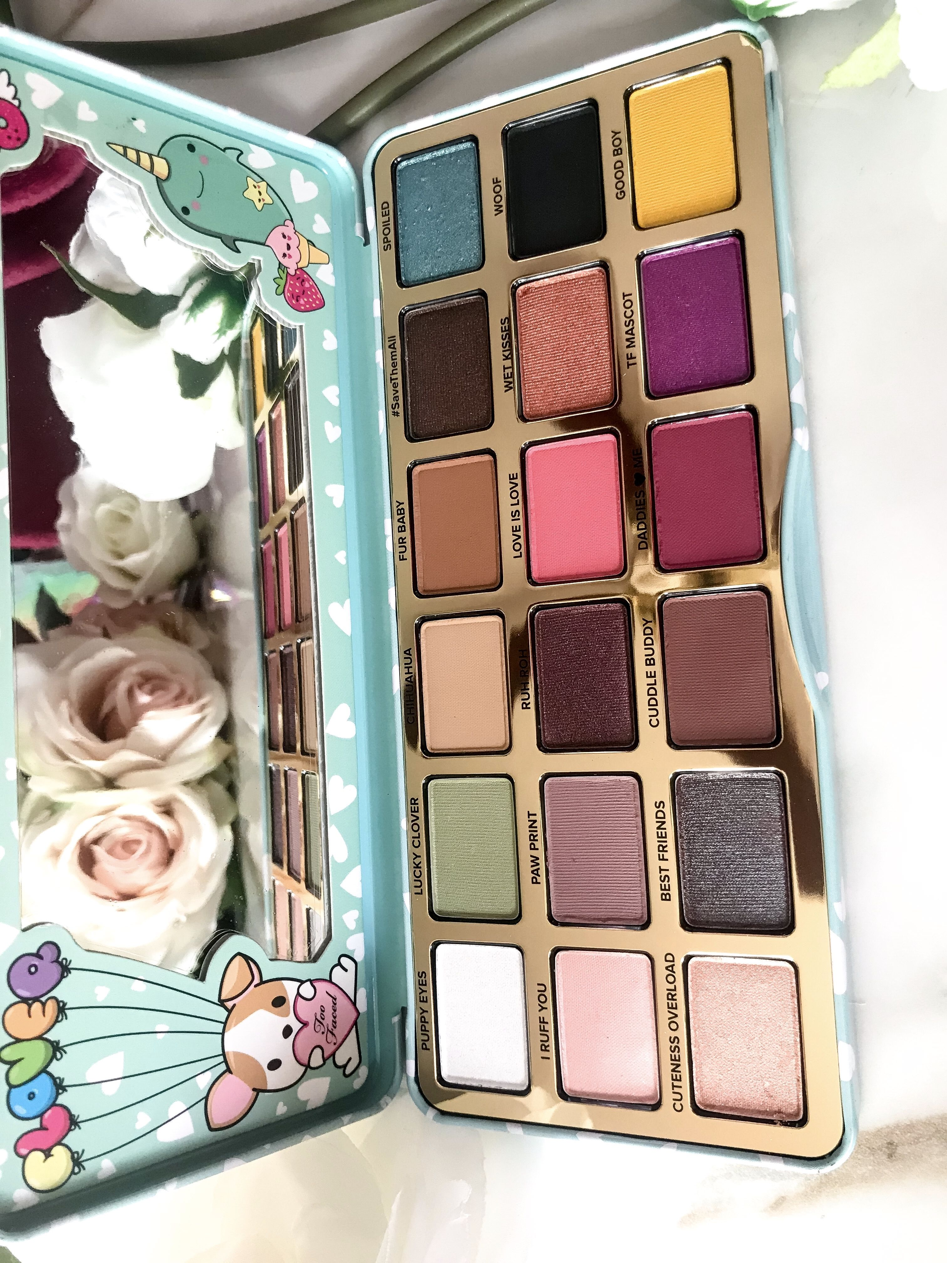Too Faced Clover Eyeshadow Palette Swatches Eyeshadow