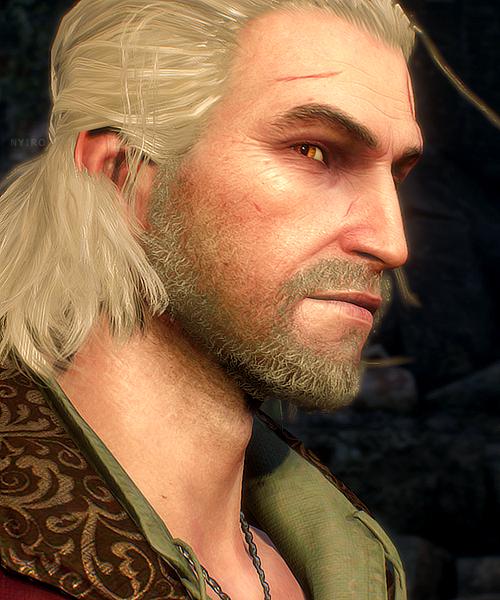 Geralt Of Rivia Hair : geralt, rivia, Geralt, Rivia, Witcher, Geralt,, Rivia,