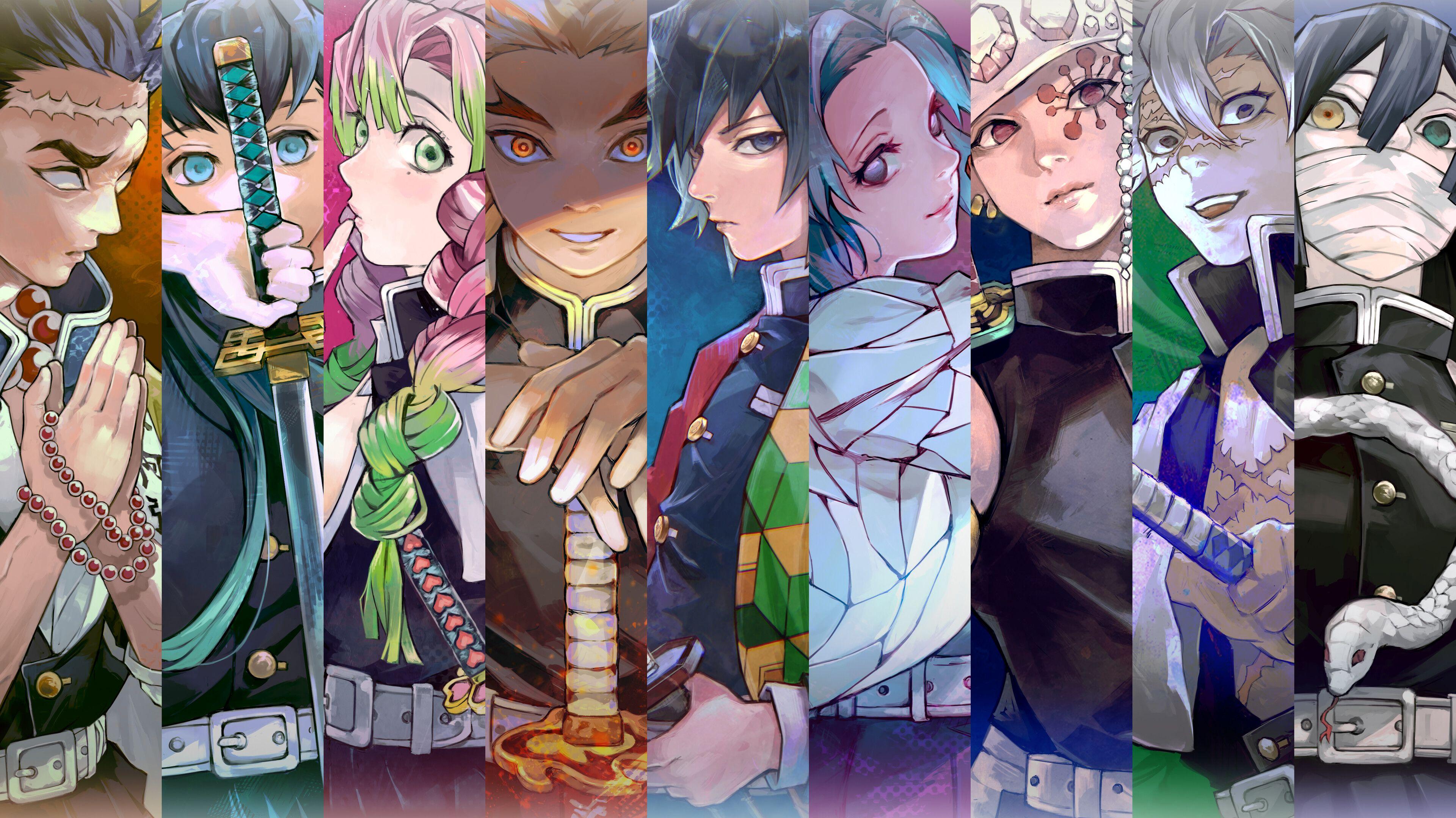 They are powerful warriors who aim to eradicate all demons in order to protect humanity. Kimetsu No Yaiba Pillars Demon Slayer Hashira - Manga