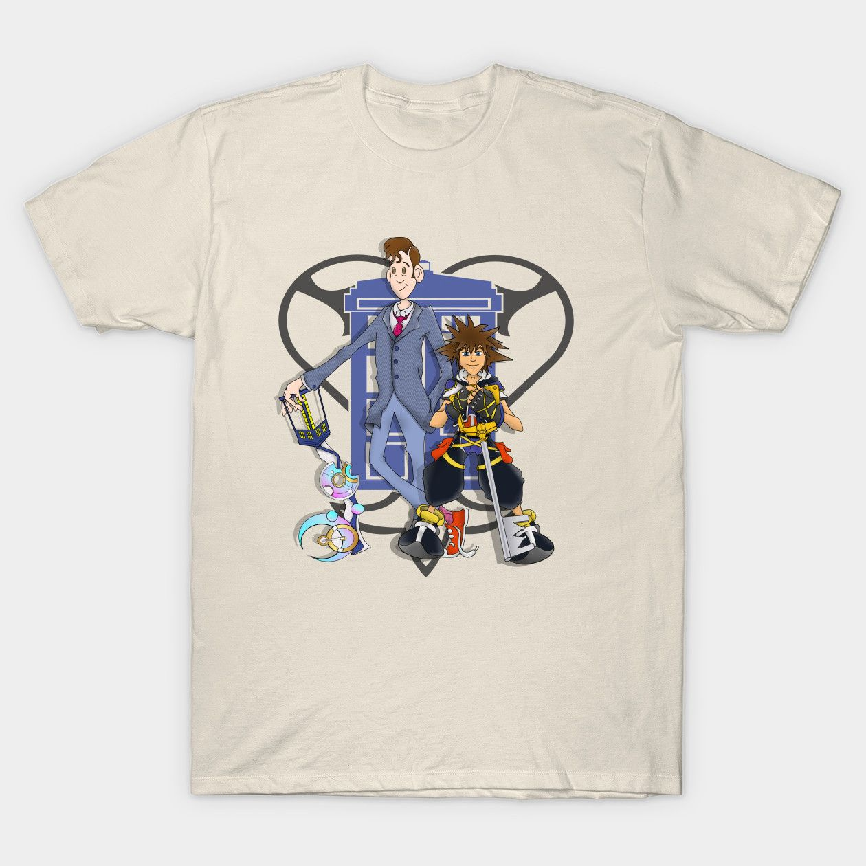 Kingdom Hearts Dr Who Level Doctor Who Classic T Shirt Products