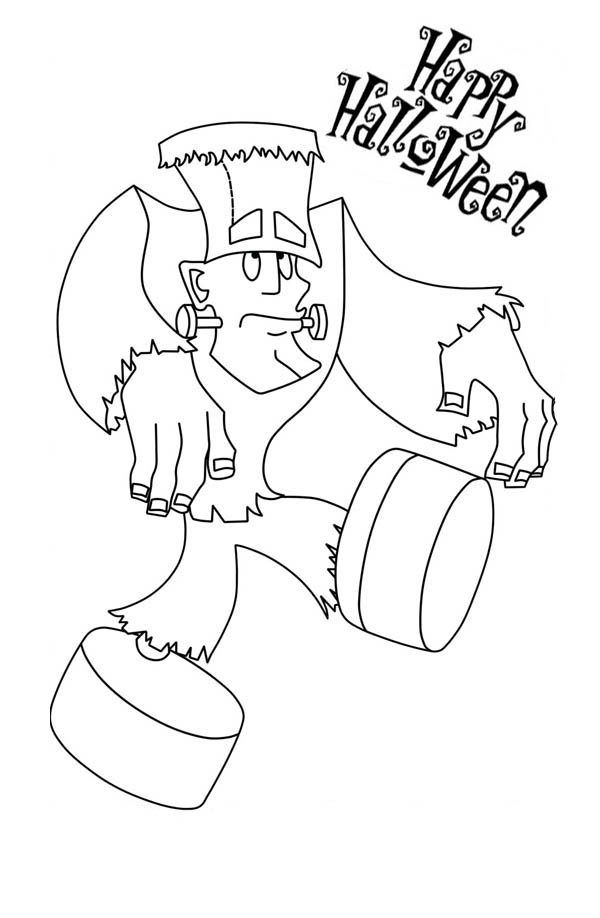 Frankenstein Going For Walk Coloring Page Download Print Online Coloring Pages For Free Color Nimbus Online Coloring Pages Online Coloring Coloring Pages