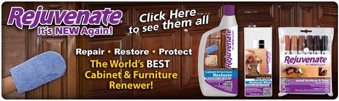 Rejuvenate Cabinet And Furniture Restoration Products
