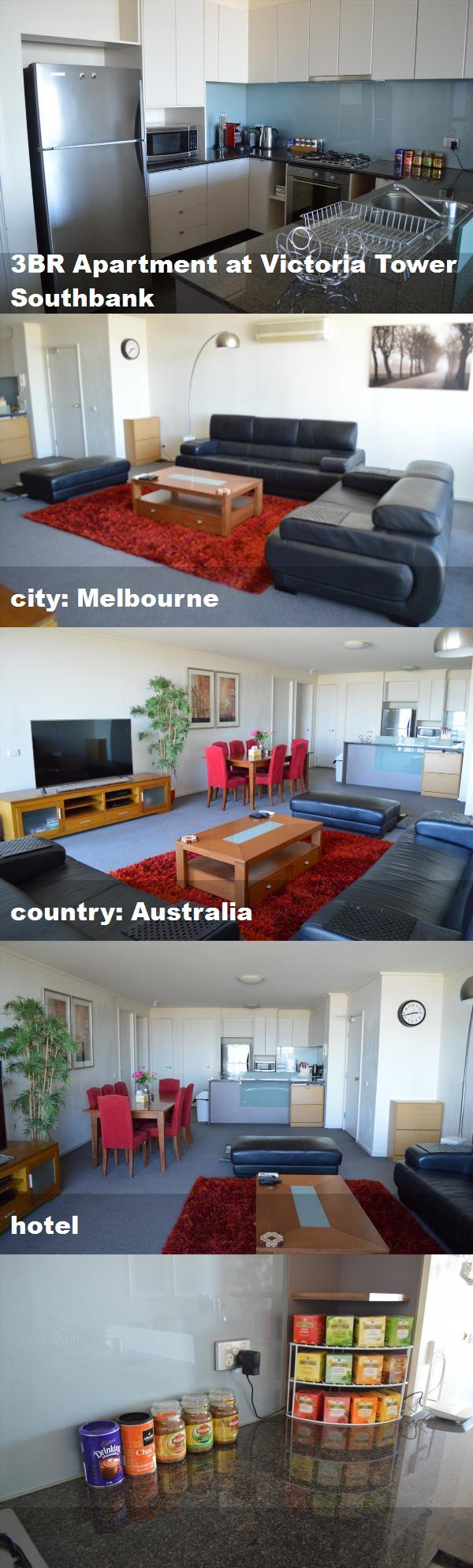 3br Apartment At Victoria Tower Southbank City Melbourne