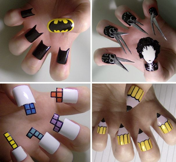 Creative Nail Art: I Can't Believe That I Have A