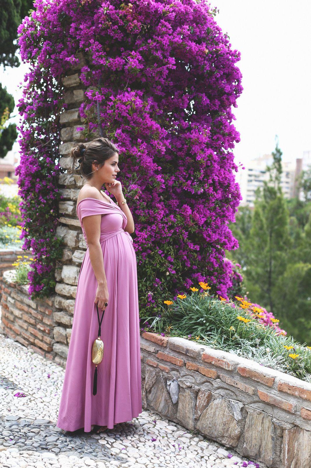 pregnancy | maternity outfits | vestido rojo carmesi cotton candy ...