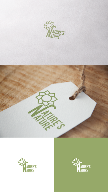 Create a logo for Nature's Nature by cmyk13