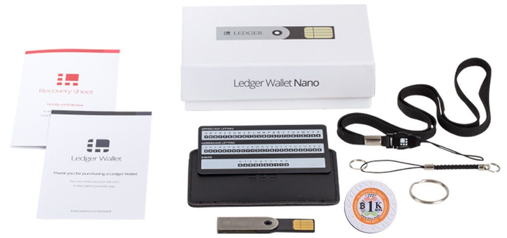 New post #USB Hardware Ledger Nano wallet for Bicoin Ethereum - free accounting ledger