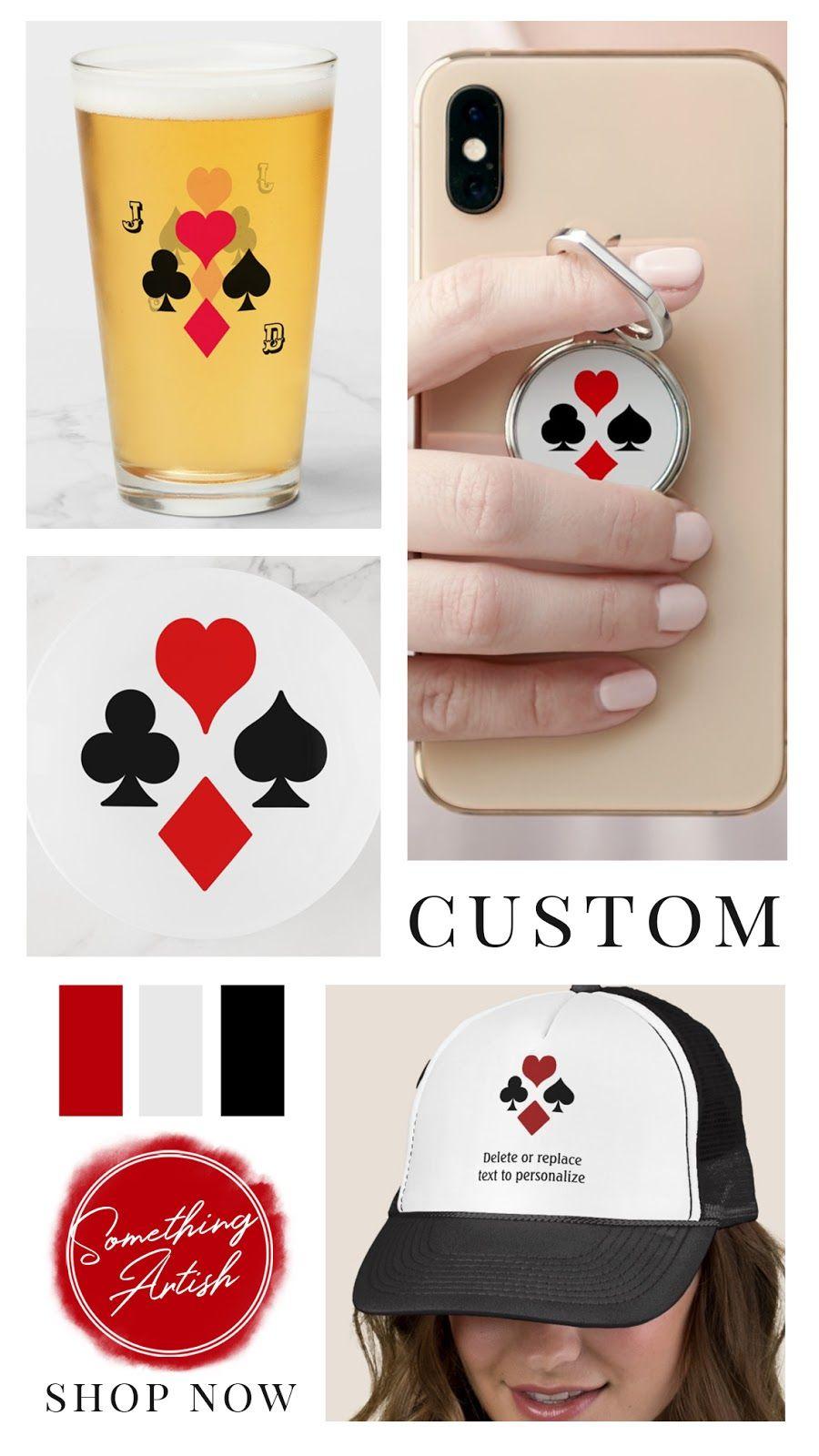 Designer Spotlight Something Artish Playing Card Suit