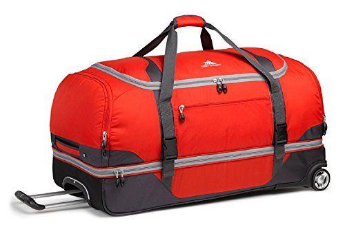 High Sierra Sportour Drop Bottom Wheeled Duffel Duffel Bag Duffel Rolling Duffle Bag