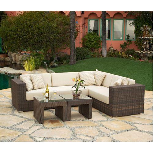 Panorama Outdoor Sectional Set Modern Patio Furniture Outdoor Living Outdoor Furniture Sets