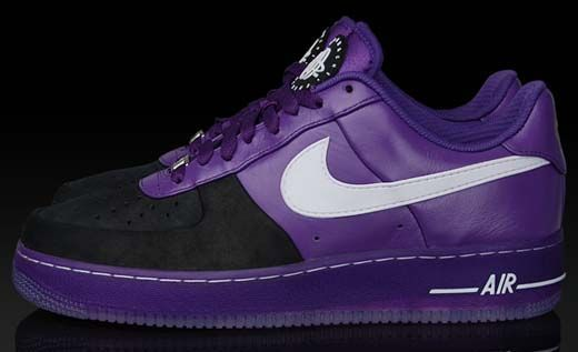 "93c50a0fe052 Nike Air Force 1 ""Huarache"" Low Supreme - Purple"
