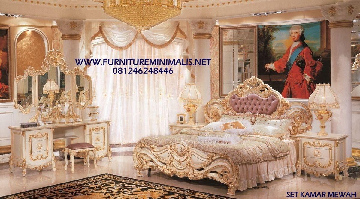 Tempat Tidur Mewah Royal Terbaru Set Kamar Pengantin