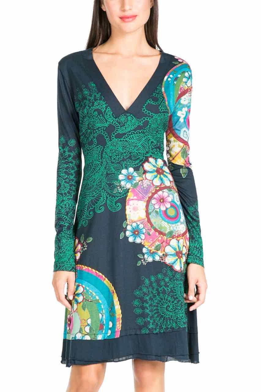 Desigual Dress Gare Rep Blue, Fun Fashion | DESIGUAL Inspiratie ...