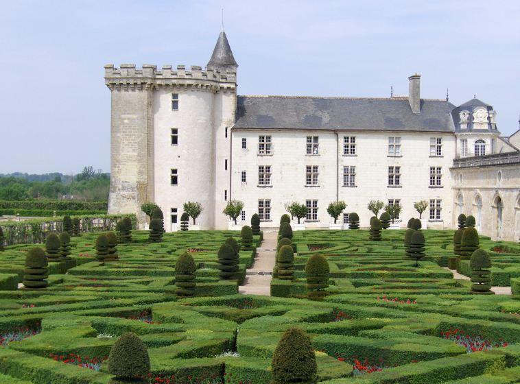 Le Château de Villandry, France French castles, Castle