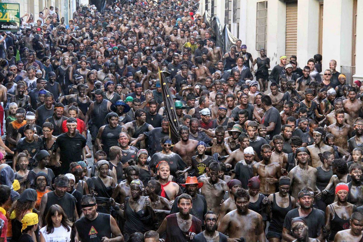 Fiesta del Cascamorras de Baza y Guadix (#Granada)