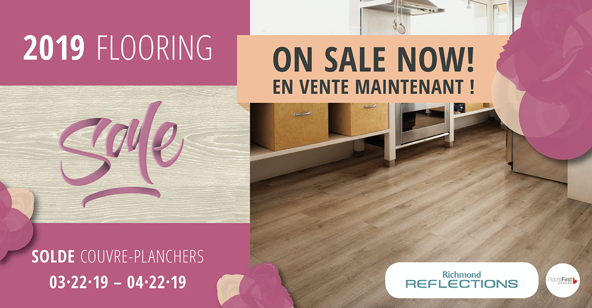 The 2019 Flooring Sale is on Now at Contempa! Laurentian