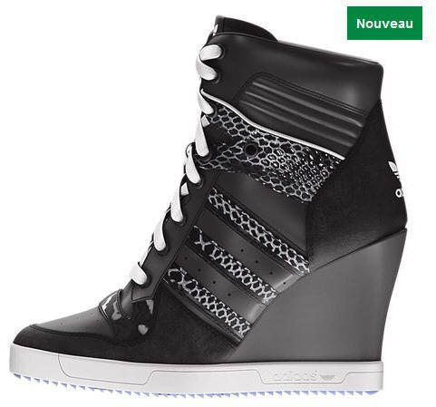 chaussures compensées femme adidas