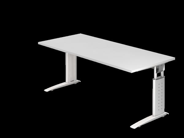 Schreibtisch Us19 180x80cm Weiss Weiss Mit Bildern Haus Deko