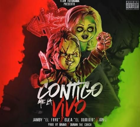 Jamby El Favo Contigo Me La Vivo Ft Ele A El Dominio Jon Z Reggaeton Trap Musica Latina