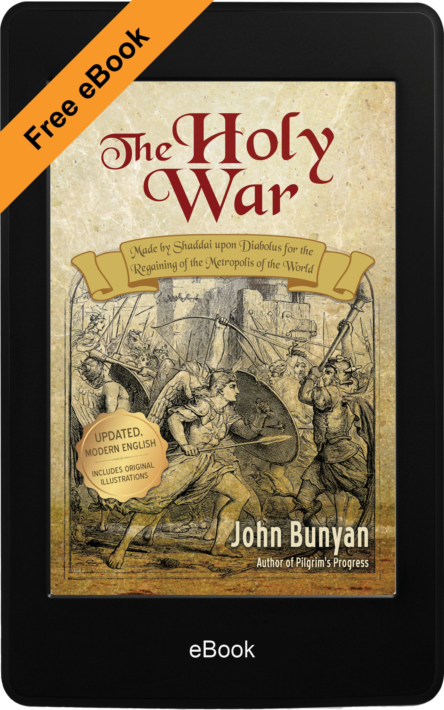 The Holy War (eBook)   Free Christian ebooks for kindle!   Religious
