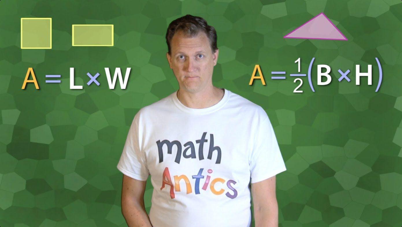Math Antics - Area | Maths solutions, Homeschool math ...