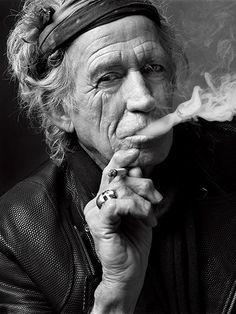 Keith Richards por Mark Seliger