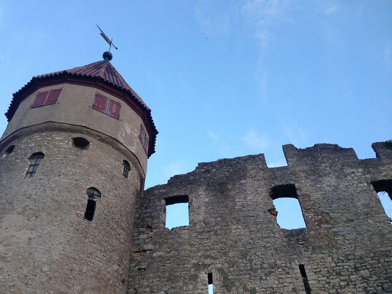 Germany, Castle, Honing Mountain, Tuttlingen #germany