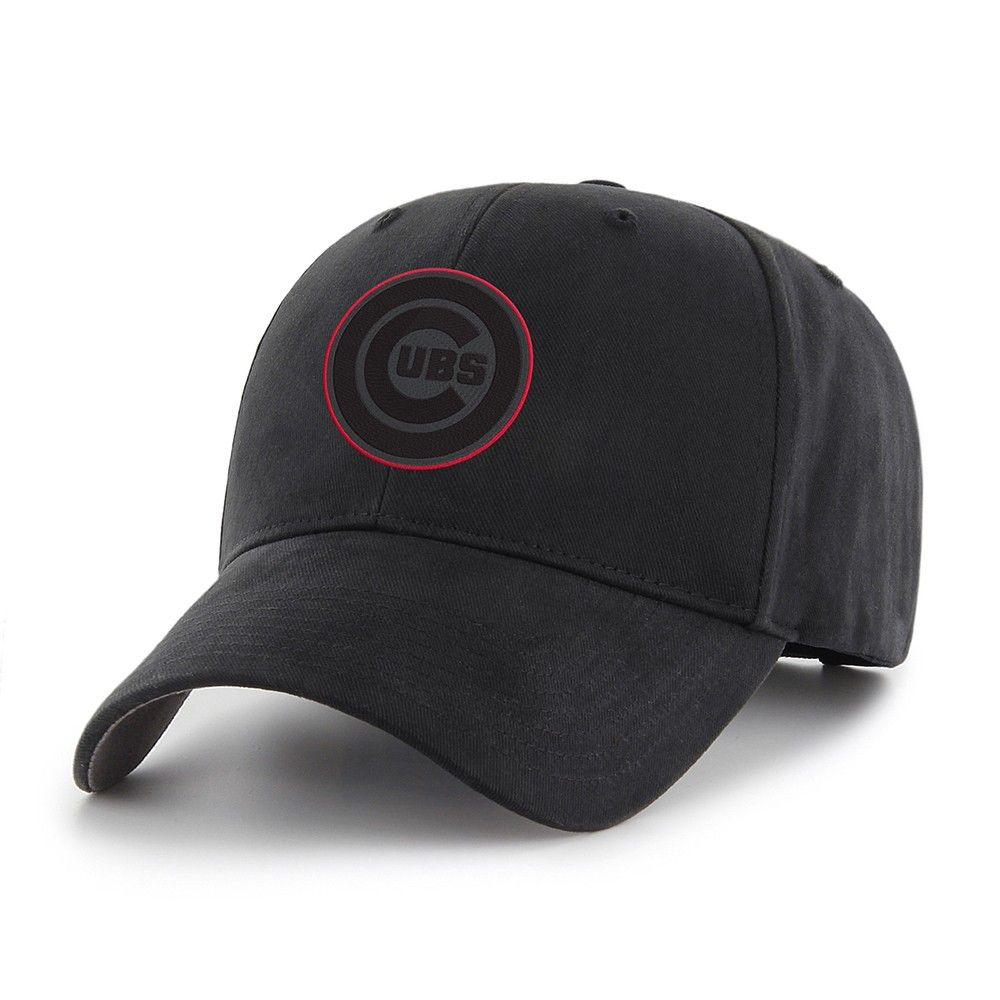 d8a90c091 MLB Chicago Cubs Classic Black Adjustable Cap/Hat by Fan Favorite, Kids  Unisex