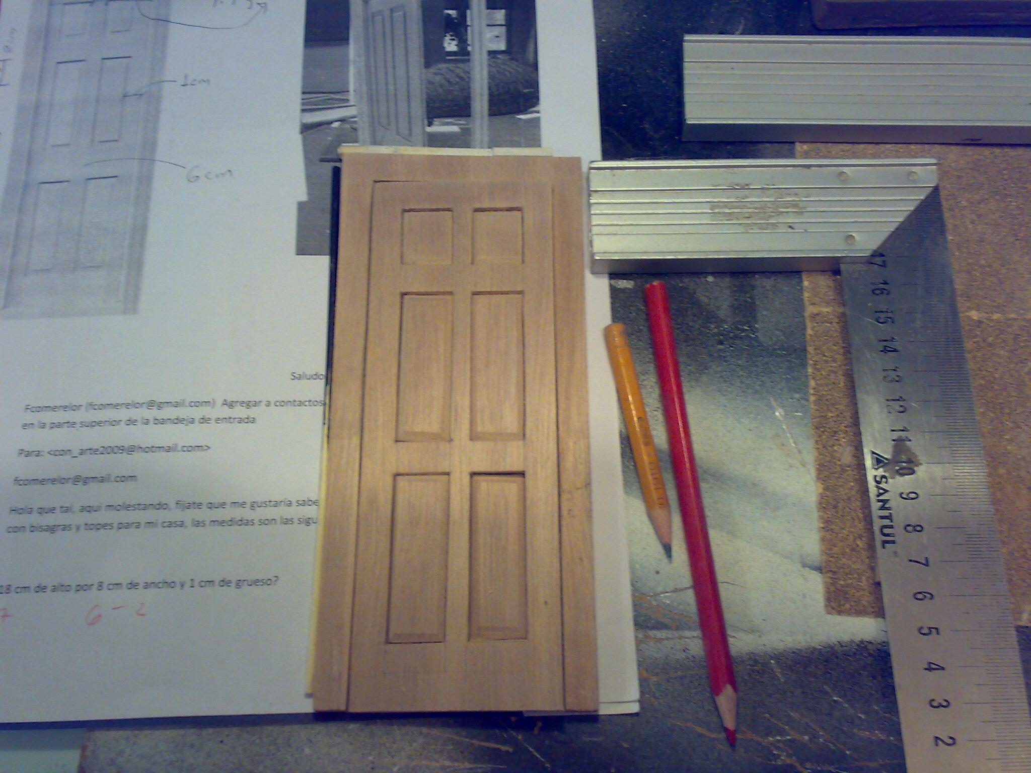 Prueba uno de puerta con marco para segundo piso