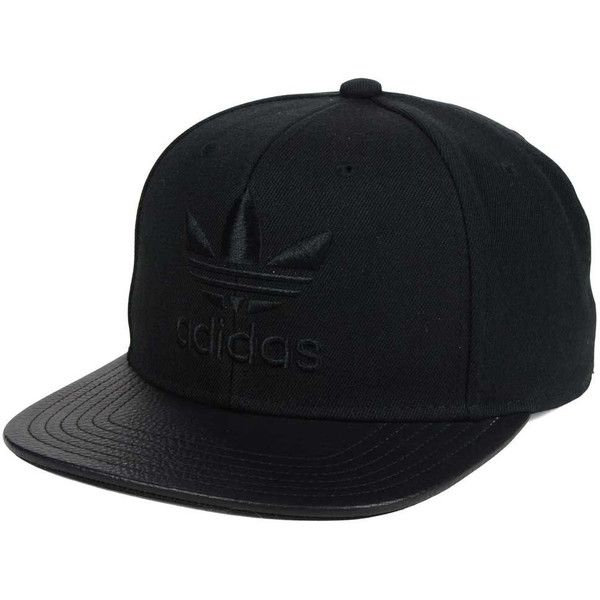 adidas Originals Originals Trefoil Plus Snapback Cap ( 27) ❤ liked on  Polyvore featuring accessories c791fa34c45
