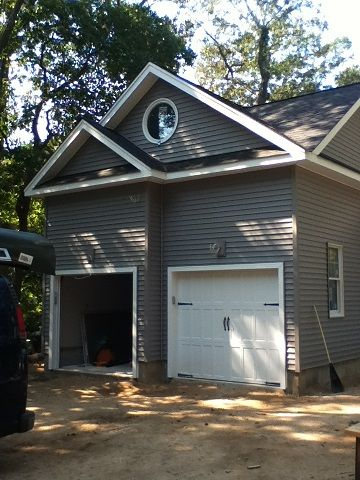Two Car Garage Addition With Room Over In 2019