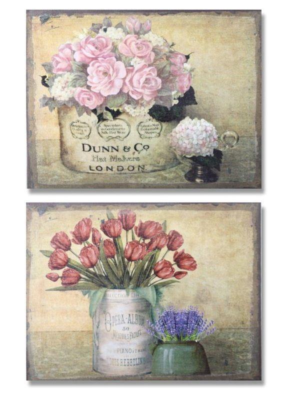Cuadro decorativo vintage | Vintage | Pinterest | Cuadros ...