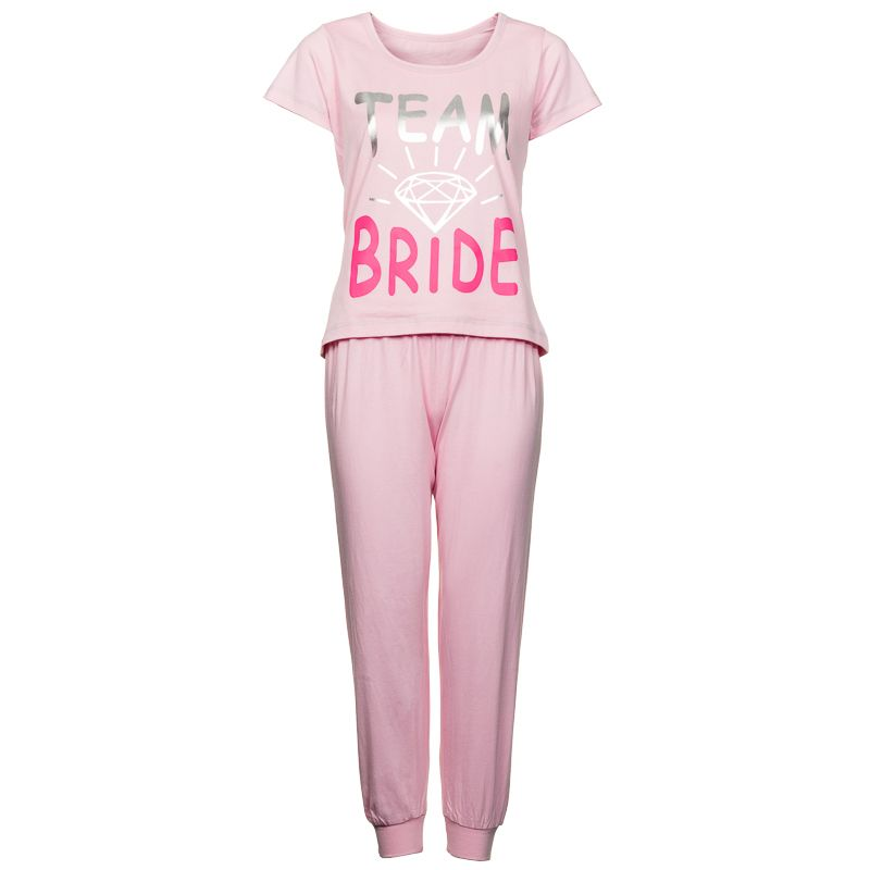 Team Bride Womens Pyjamas Treat The To Be With This Great Hoo