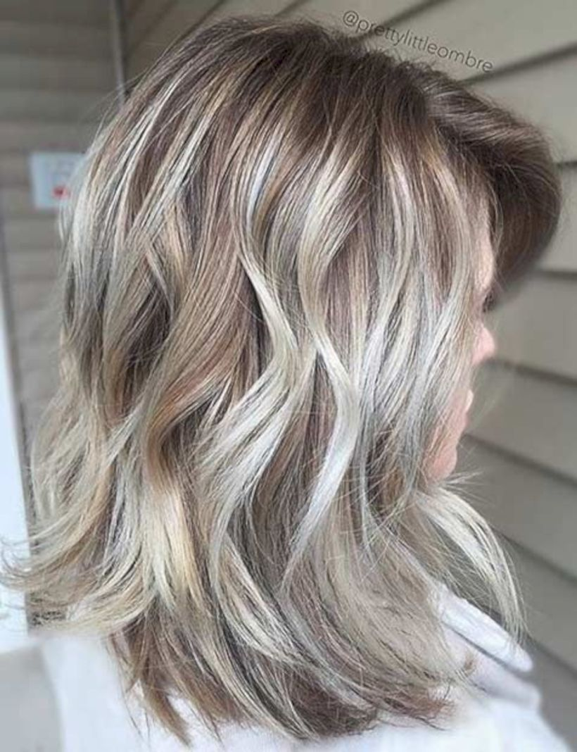 lovely medium ombre hairstyles for women to get an wonderful look