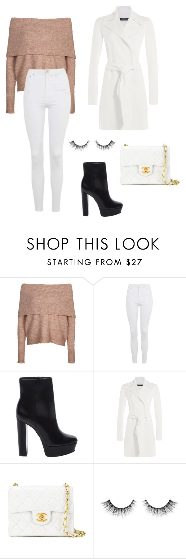"""Untitled #241"" by itsamandarose on Polyvore featuring ONLY, Topshop, Schutz, Ralph Lauren Black Label and Chanel"