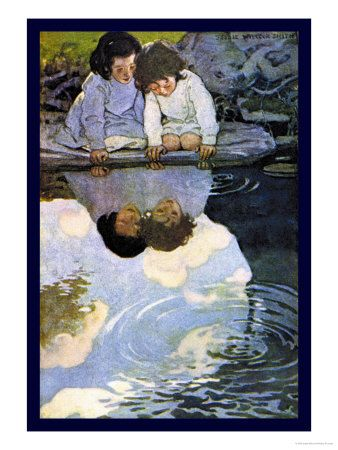 Looking-Glass River  by Jessie Willcox-Smith