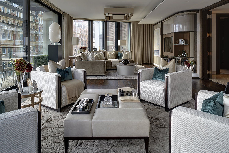 One Hyde Park Apartment Luxury Interiors Pinterest