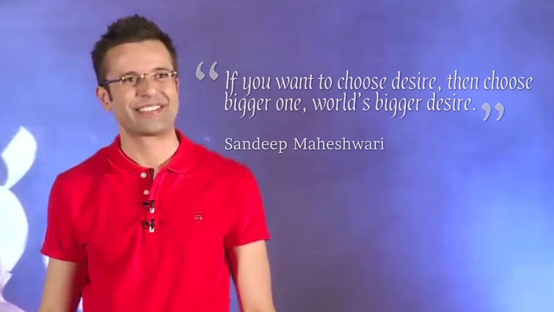 Sandeep Maheshwari Quotes Wallpapers HD Backgrounds