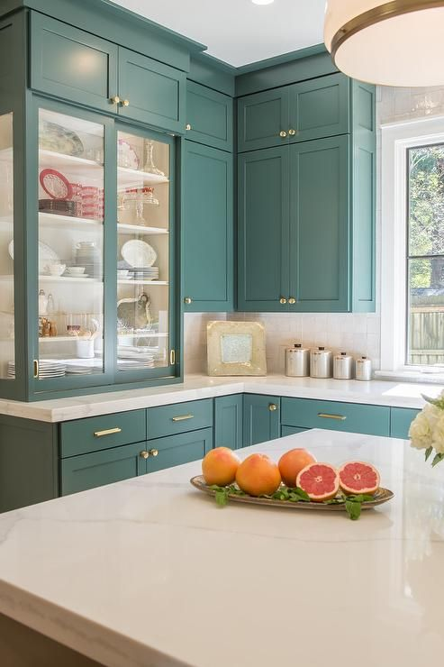 The Best Green Paint Colors -   19 sage green kitchen cabinets two tone ideas