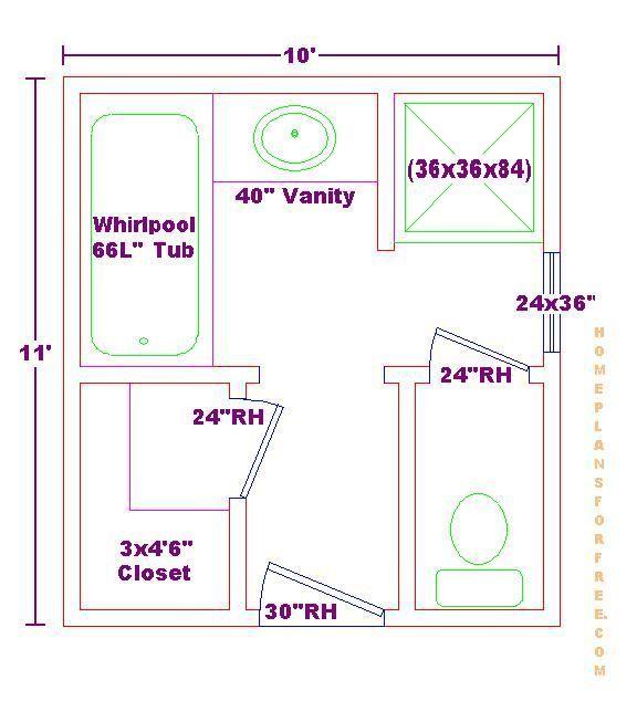 Best 9X9 Bathroom Floor Plans In 2019 Bathroom Design Layout 400 x 300