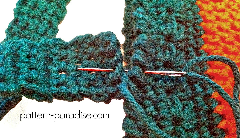 Free Crochet Pattern Halloween Bags by Pattern-Paradise.com ...