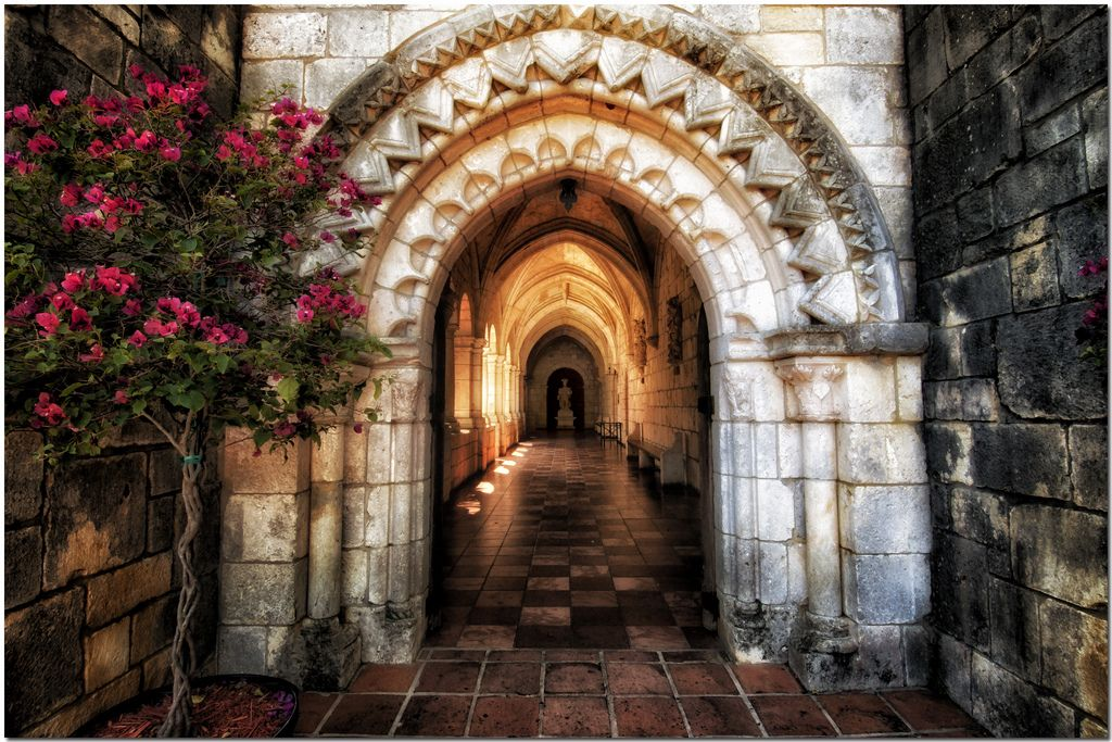 The Ancient Spanish Monastery By Mirenchu Fernandez