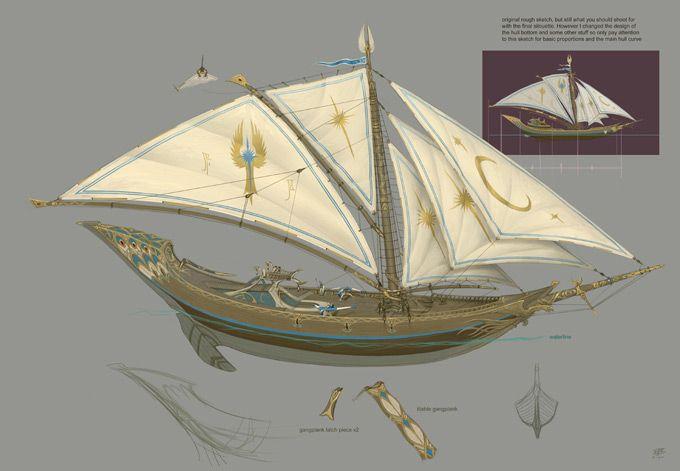 Elf Sailing Ships
