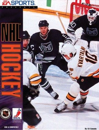 Nhl Hockey For Pc 93 And The First Version Of Ea Sports Nhl