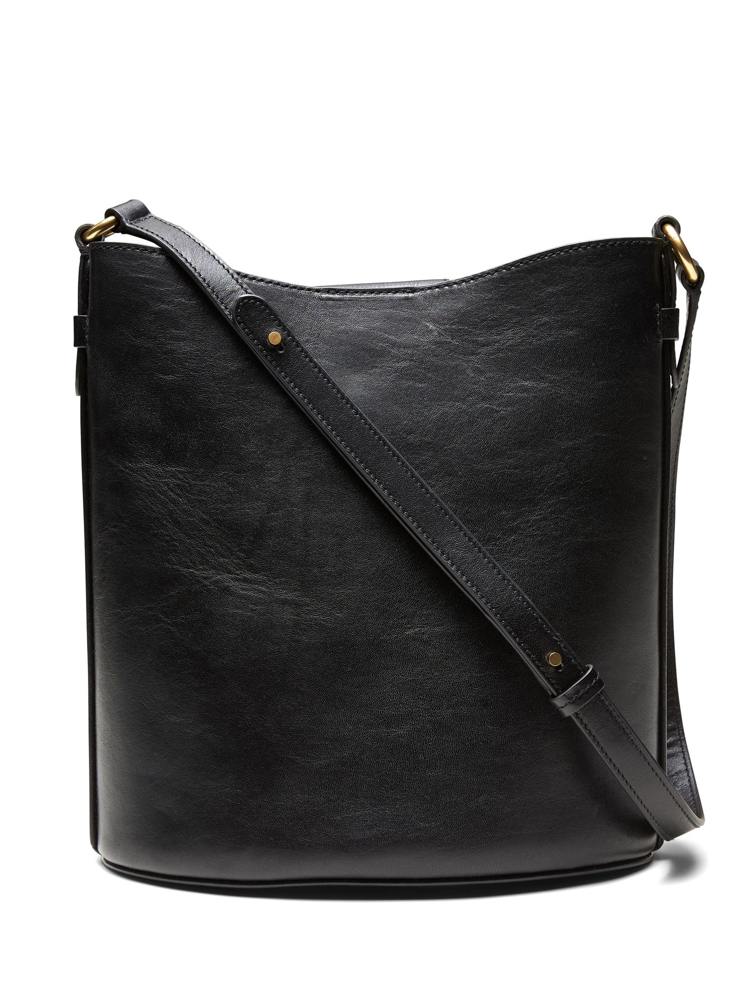 Italian Leather Large Bucket Bag  6ef6f290f4a00